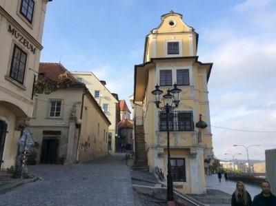 Bratislava - Near the castle