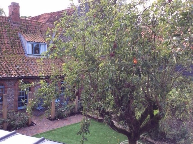 View from my room at Walsingham October 2016