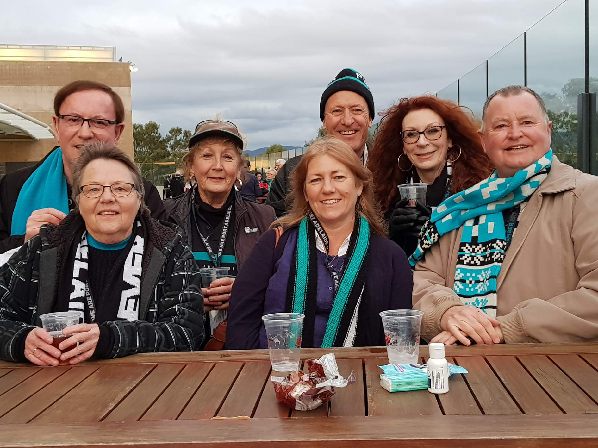 Port Adelaide's final home game with friends on Saturday, Aug 26.