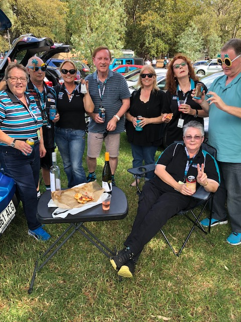 1st home game for Port Adelaide. Before the game there was a picnic lunch