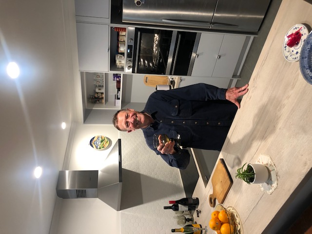 First dinner in the New Kitchen