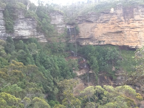 5 hour walk in the Scenic World park
